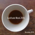 150gratitude week 2014