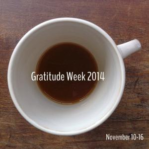 600gratitude week 2014